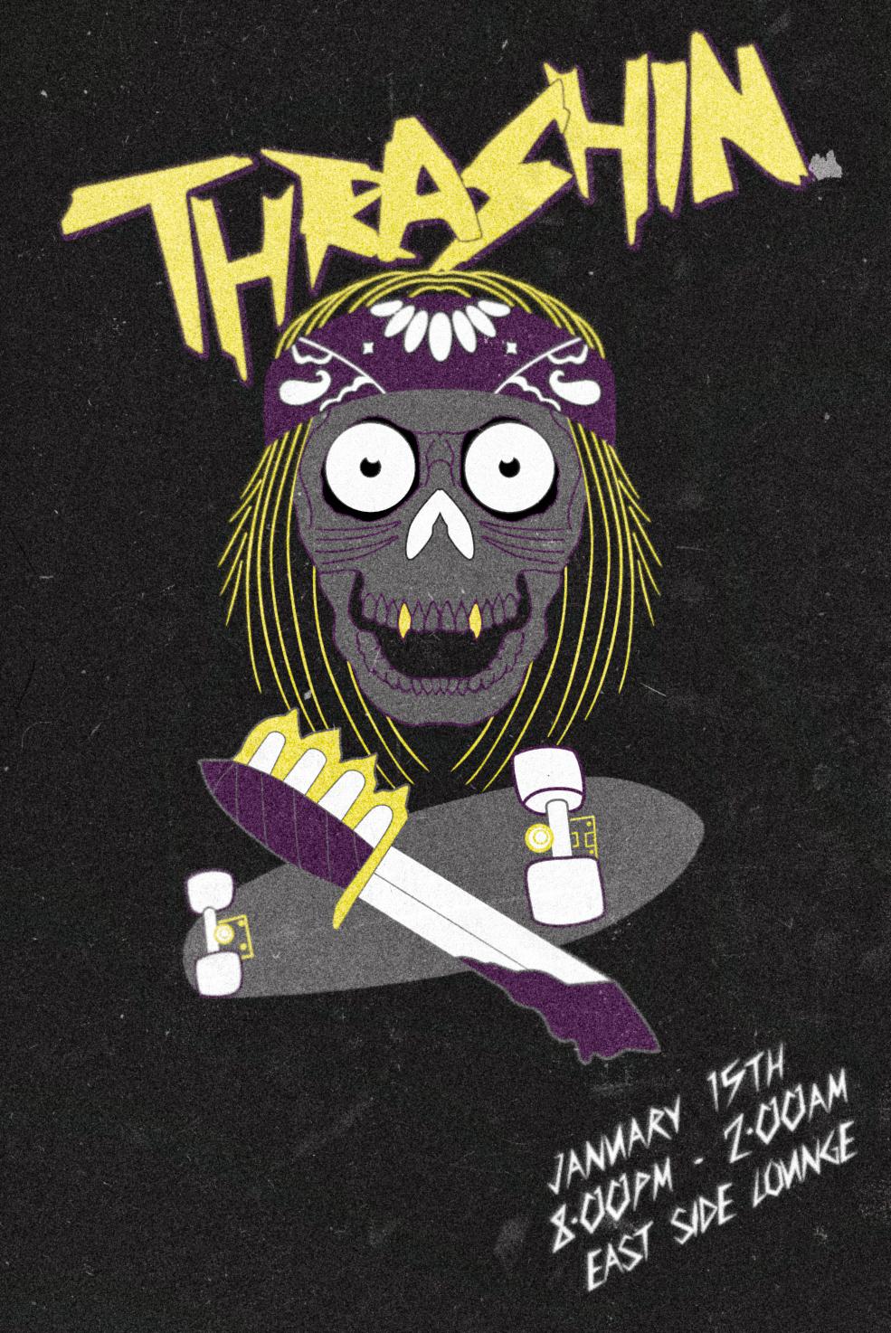 Thrashin-Poster
