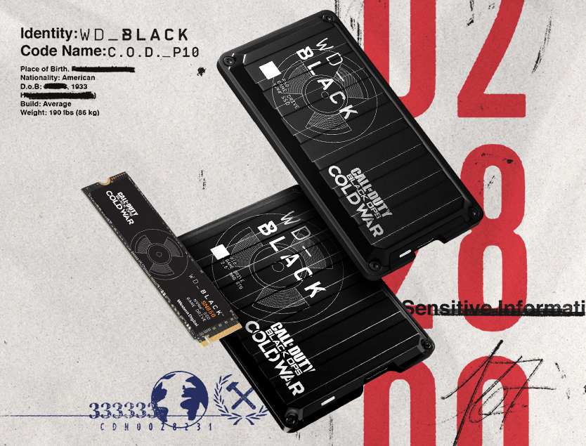 WD_BLACK Call of Duty Campaign