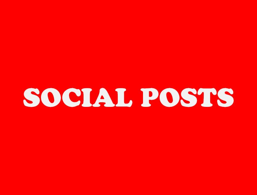 Selected Social Posts